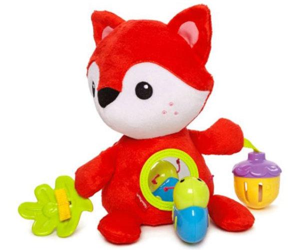 Занимателна играчка - лисичка